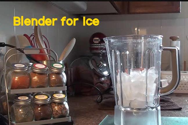 Blender-for-ice